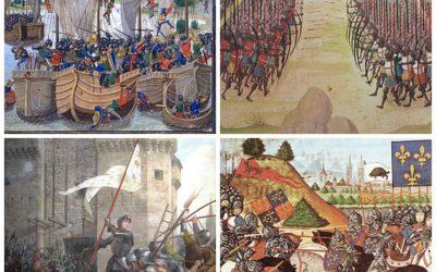 La guerre au Moyen-âge et la guerre de 100 ans