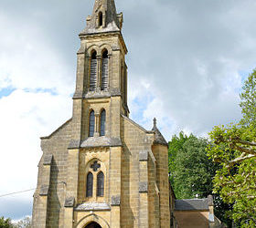 Sur le chemin de St Jacques de Compostelle : Domme
