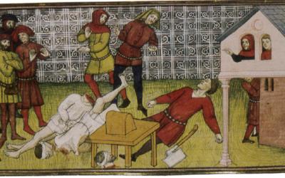 Les rituels d'exécution au Moyen-âge