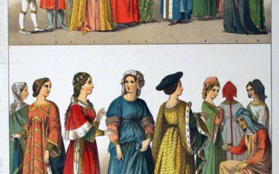 Moyen-âge : les vêtements et leurs couleurs